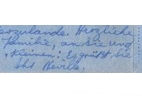 Neville Alexander's handwriting