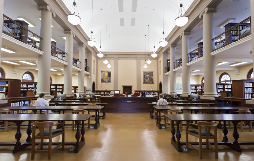 Jagger Reading Room