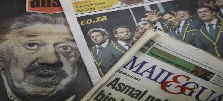 Newspapers header